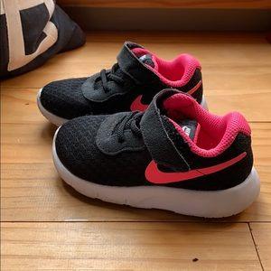 Hot pink toddler sneakers